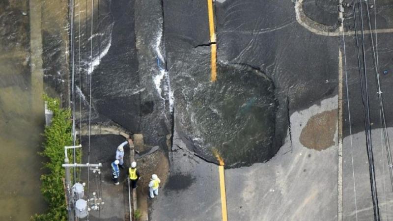 Japonya'da deprem: Çok sayıda ölü ve yaralı var
