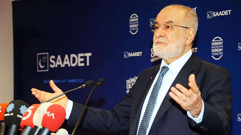 Karamollaoğlu: AK Parti'nin oy oranı yüzde 20'lere düştü, şokla karşılaşacağı endişesini taşıyor