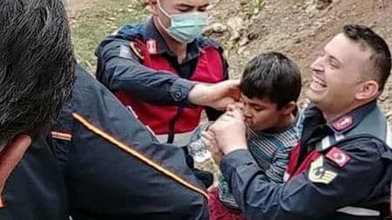 Kaybolan otizmli çocuk, 3 gün sonra bulundu