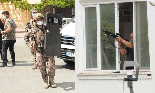 Kayseri'de pencereden tüfekle rastgele ateş açtı: 1 yaralı