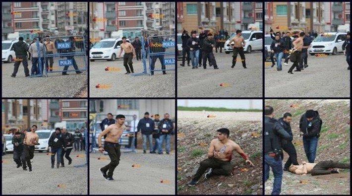 Kemal Kurkut'un vurulma görüntüleri ortaya çıktı