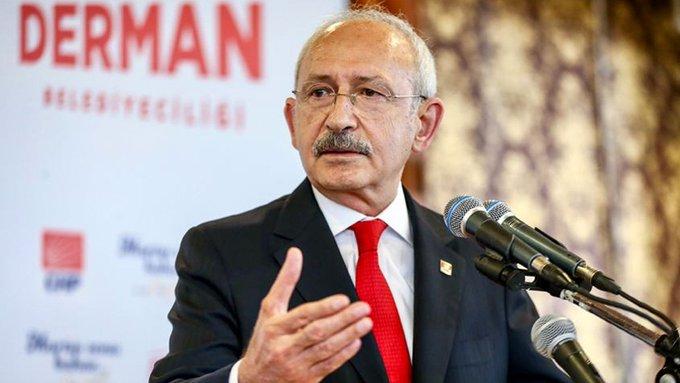 Kılıçdaroğlu: Bunun adı açıkça Türkiye Cumhuriyeti Devleti'ne ihanettir