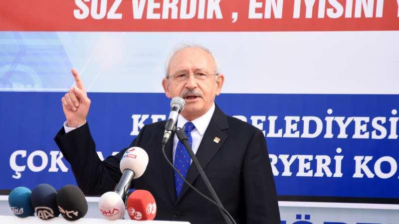 Kılıçdaroğlu: İçişleri Bakanlığı'nı harekete geçirmezsen adam değilsin