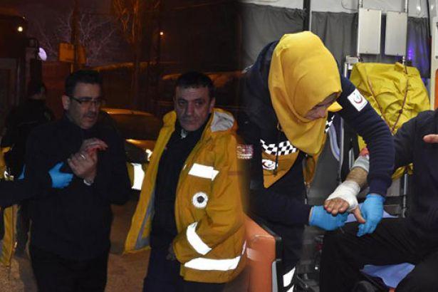 Konya'da belediye otobüsü şoförüne saldırı