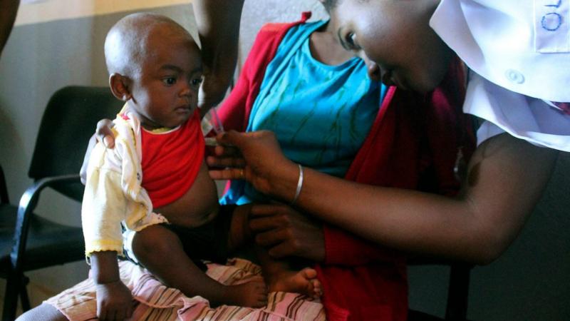 Madagaskar'da 1200 kişi kızamıktan öldü 115 binden fazla kişiye teşhis konuldu