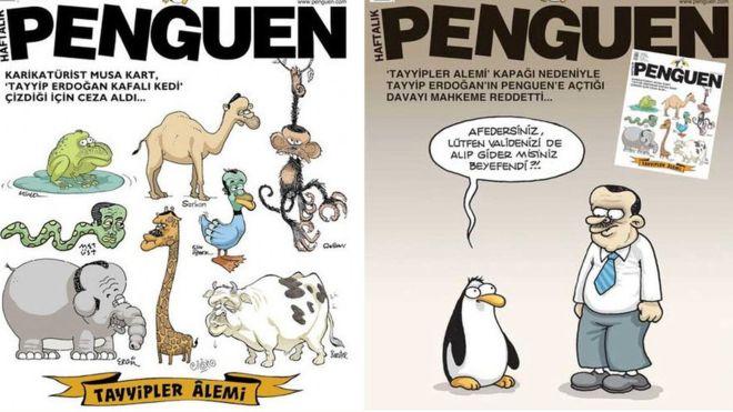 Mahkemenin 'ifade özgürlüğü' dediği karikatür nedeniyle gözaltına alındılar