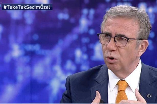 Mansur Yavaş: HDP'lileri terörist olarak görmüyorum. Topluma kazandırılmalı...
