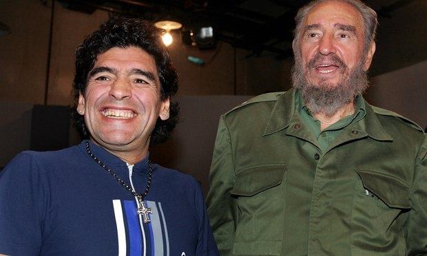 Maradona: Fidel babam gibiydi