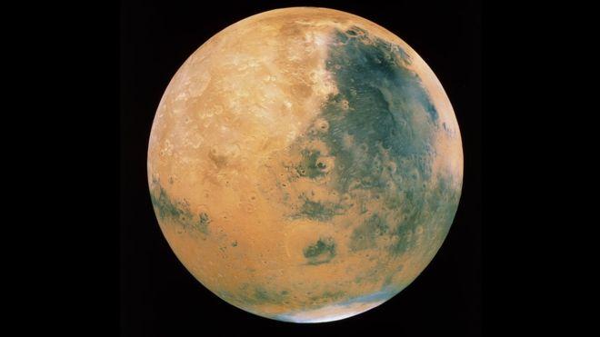 Mars'ta hayat olabilir: Göl bulundu