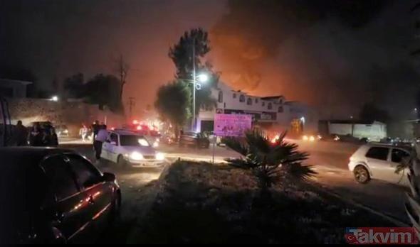 Meksika'da patlama: 20 kişi yanarak can verdi