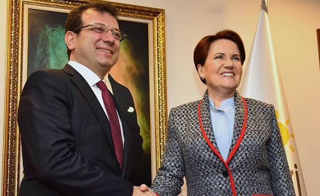 Meral Akşener Ekrem İmamoğlu'nu kutladı