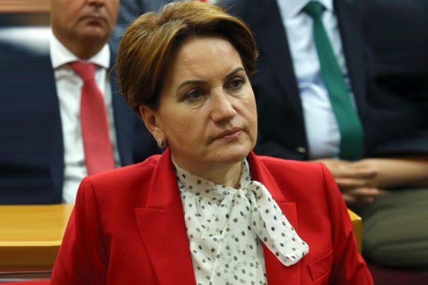 Meral Akşener: 'Hayır' çıkarsa Binali Yıldırım ve Devlet Bahçeli gider