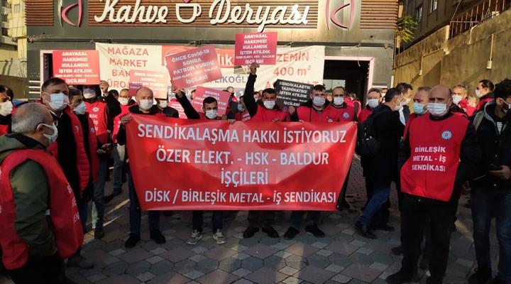 Metal işçilerine polis müdahalesi: 99 kişi gözaltına alındı