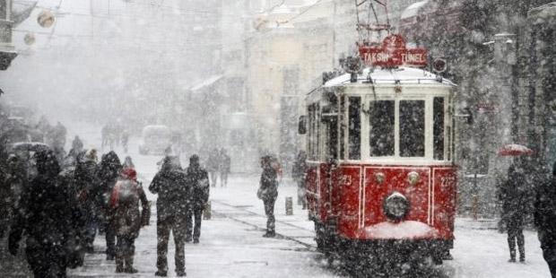 Meteoroloji: İstanbul'a kar geri geliyor
