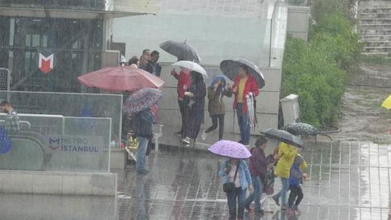 Meteoroloji'den yarın İstanbul için uyarı