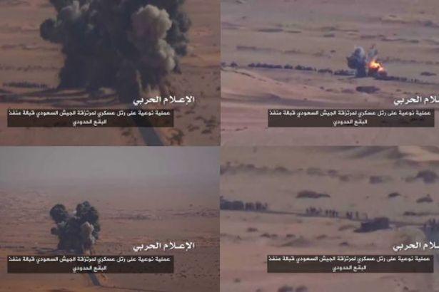 Mısır ordusu 100 IŞİD'liyi, Husiler Suudi ordusunun konvoyunu vurdu!