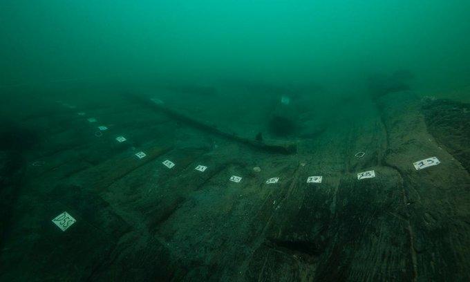 Mısır'da türünün ilk örneği bir gemi kalıntısı bulundu