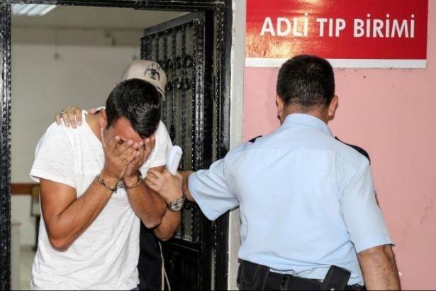 Nişanlısıyla görüşmek için çarşaf giyen erkek gözaltına alındı!