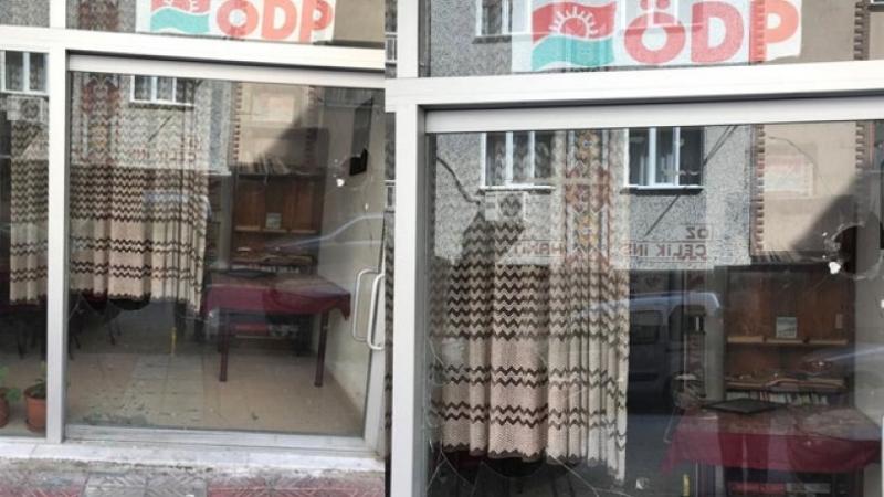 ÖDP binasına saldırı