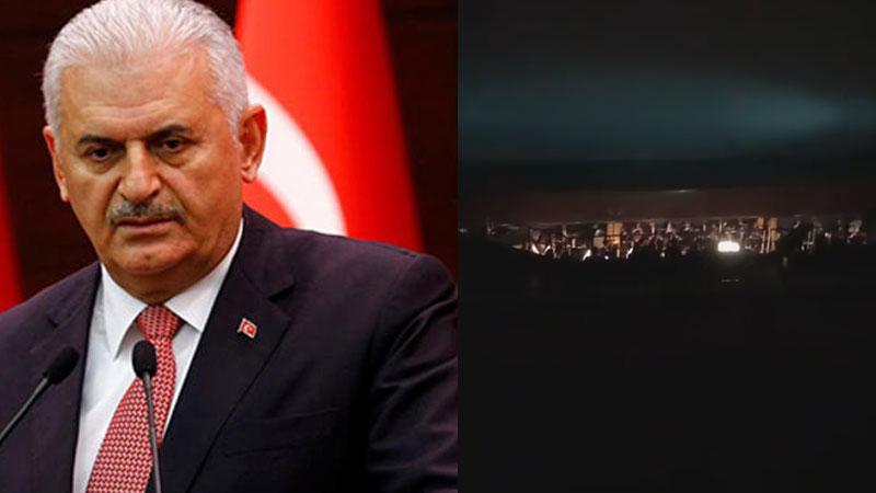 Opera izlemeye giden Binali Yıldırım'a seyirciden protesto: