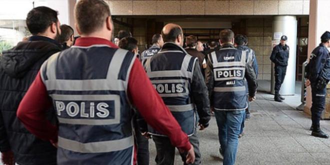 Örgüt üyesi 64 polis ve adayına gözaltı kararı