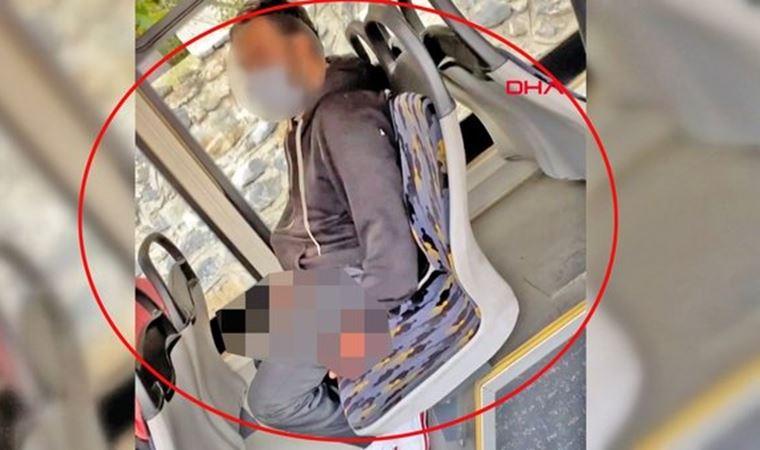 Otobüste mastürbasyon yapan sanık hakkında yakalama kararı