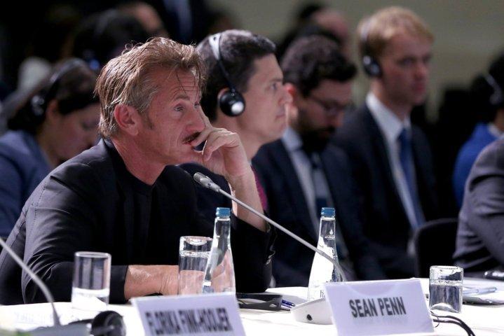 Oyuncu Sean Penn, Cemal Kaşıkçı için İstanbul'a geldi
