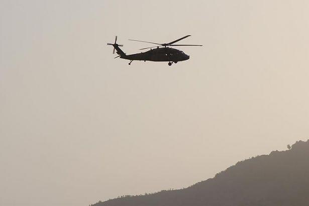 Özbekistan'da helikopter düştü: 9 ölü!