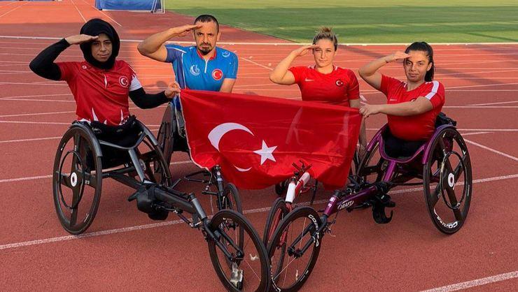 Para Atletizm Avrupa Şampiyonası: Milli sporcular bronz madalya kazandı