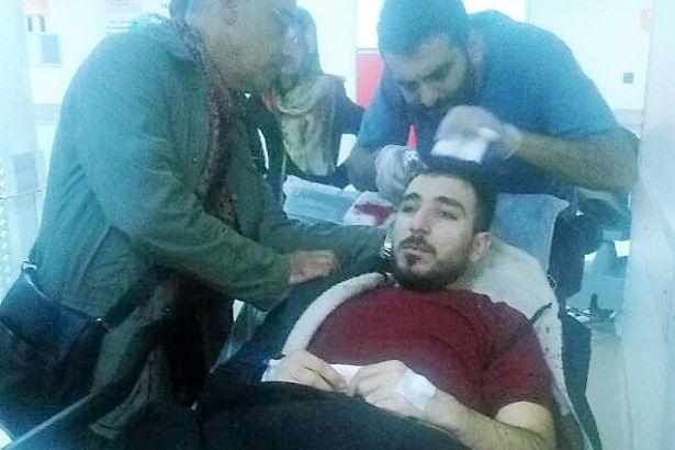 Patronlar, dava açıp tazminat kazanan işçiye levyeyle saldırdı