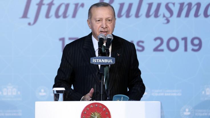 Recep Tayyip Erdoğan: Özlük haklarının yanında silah dediniz silah da verdik