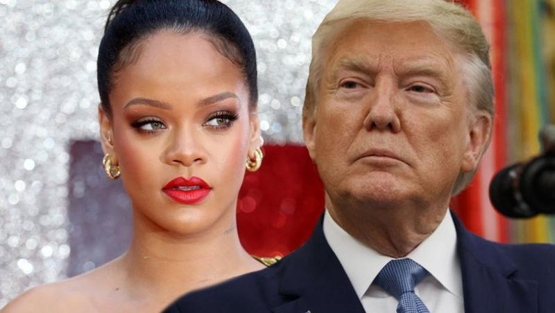 Rihanna: Trump, ABD'nin en akıl hastası insanı
