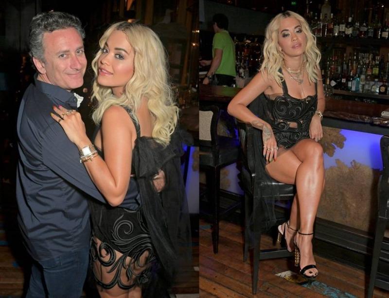 Rita Ora siyah transparan elbisesiyle Formula E etkinliğinde! Rita Ora kimdir?