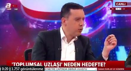 Sabah muhabiri A Haber'de Kılıçdaroğlu'na saldıran saldırganın yakalanmasını 'talihsizlik' olarak yorumladı