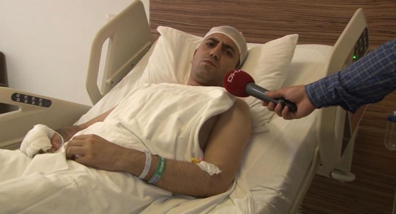 Saldırıya uğrayan Yeni Akit TV Müdürü: Senin siyasi iradenin de hakkından geleceğiz diyerek başıma beyzbol sopasıyla vurdu