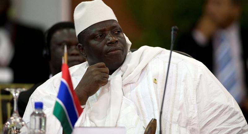 Seçimi kaybedip görevi bırakmayan Gambiya lideri Jammeh, OHAL ilan etti