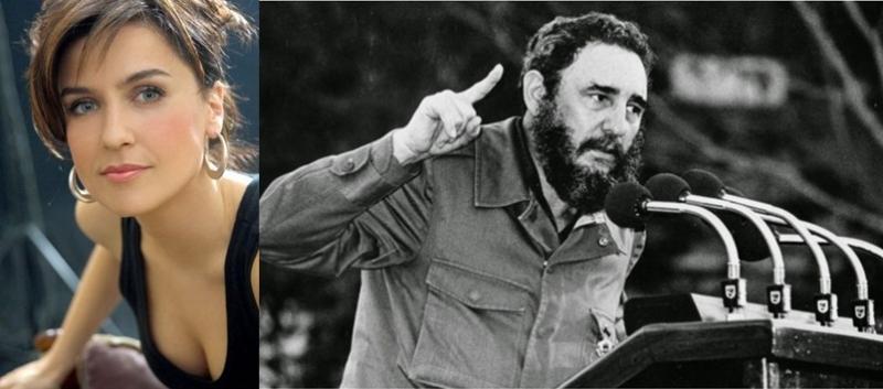 Şevval Sam'dan Fidel Castro mesajı: Dünya artık başka bir yer!