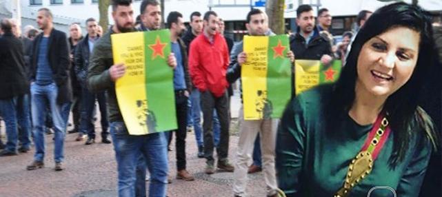 Sibel Can'a Almanya'da protesto: 'Hamburg'tan defol'