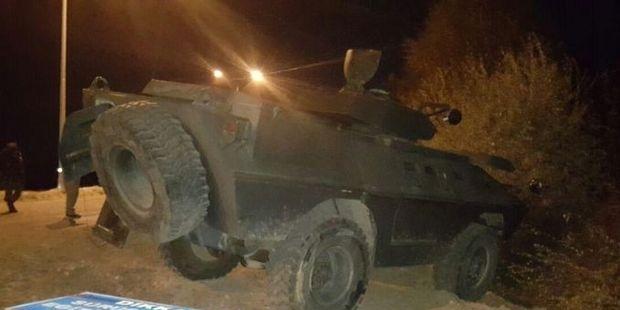 Siirt'te askeri araca saldırı
