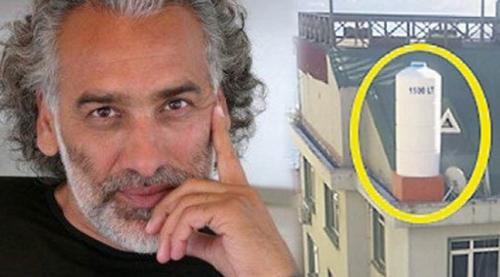 Sinan Çetin evine baz istasyonu taktırdı!