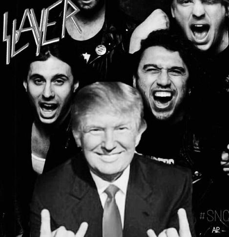 Slayer'a Trump tepkisi