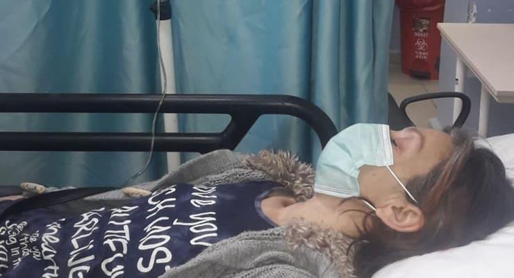 Sokak köpekleri için açlık grevindeki kadın hastaneye kaldırıldı