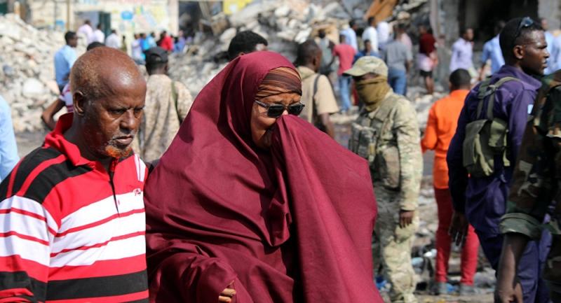 Somali'deki patlamada ölü sayısı 137'ye çıktı!