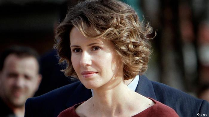 Suriye Cumhurbaşkanı Beşar Esad'ın eşi Esma Esad hastaneye kaldırıldı!
