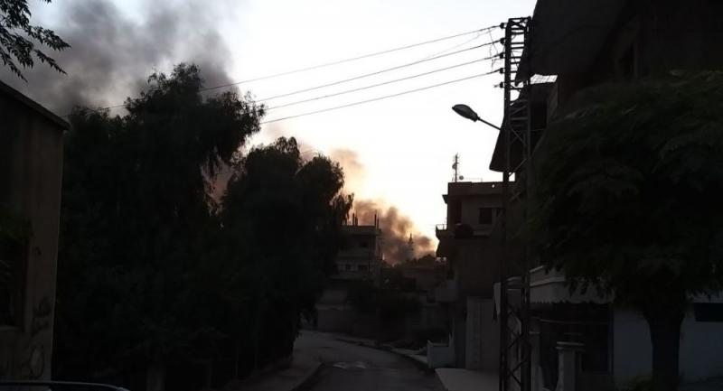 Suriye devlet televizyonu: Türk ordusu Resulayn'da su tedarik istasyonunu vurdu