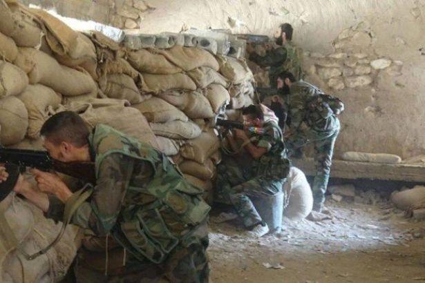 Suriye ordusu, 17 IŞİD üyesini öldürdü!