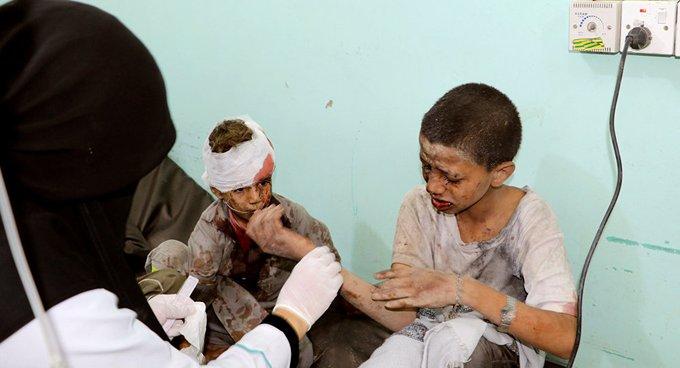 'Suudi Arabistan'ın saldırısında 24 sivil öldü'