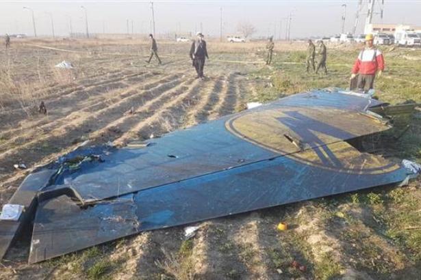 Tahran'da düşen uçağın kara kutuları bulundu, Boeing'e gönderilmeyecek