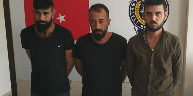 Telefonda kendilerini kamu görevlisi olarak tanıtan 3 kişi gözaltına alındı!