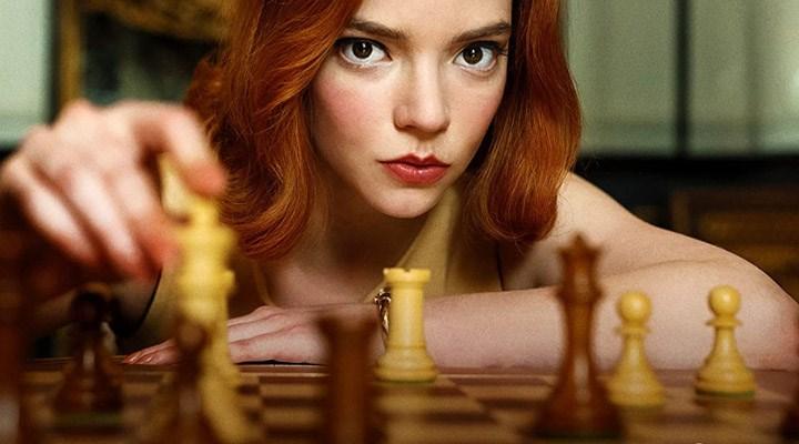 The Queen's Gambit dizisi Netflix'te en çok izlenen mini dizi oldu